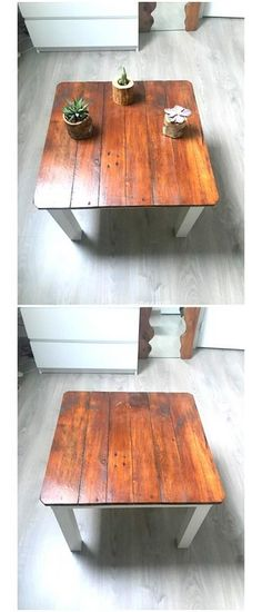 30+Simple Handmade Repurposed Pallet Wood Projects Pallet Side Table, Pallet Chair, Wooden Pallet Furniture, Wooden Sofa, Wooden Pallets, Pallet Wood, Pallet Ideas, Pallet Projects, Furniture Projects