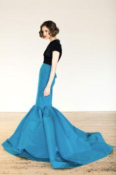 Katie Ermilio Fall 2012 Dress