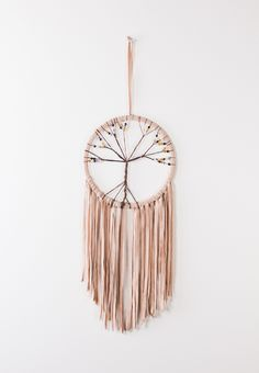 Natural Tree of Life Dreamcatcher