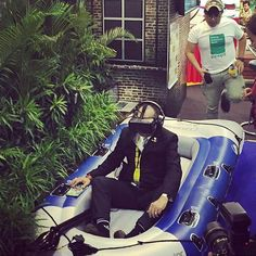 An awesome Virtual Reality pic! The Minister of Tourism Malaysia was trying out the Kampar white water rafting Virtual Reality from #destinationperak provided by #codeoforigin This was during the Singapore Tourism Expo 2015. Photo by: @ameerulpishal  #branding #virtualreality #oculus #dk2 #production #360camera #gopro #camera #video #photography #art #adventure #tourism #wanderlust #travelgram #nature #waterrafting #vacation #instagram #instagood by codeoforigin check us out…