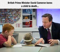 Mr. Cameron, Please Stop