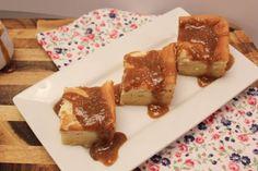 Salted Caramel Magic Custard Cake