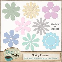 {Free Spring Flowers. Free only until March 31,2013. Pin today, Gone Tomorrow. So grab it now!}  #pintoday #gonetomorrow