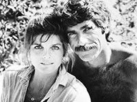"""Actor Sam Elliott, star of the film """"The Hero,"""" talks Hollywood, his marriage to actress Katherine Ross and his famous mustache. Katherine Ross, Hollywood Story, Classic Hollywood, Actor Sam Elliott, Famous Mustaches, Famous Couples, Famous Men, Famous People, Famous Celebrities"""