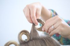 The Trick To Epic Pin Curls  on Bangstyle, House of Hair Inspiration