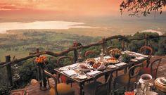 Ngorongoro Crater Lodge, Área de Conservação Ngorongoro – Tanzânia
