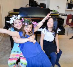 children performing in summer music camp musical Day Camp, Bridesmaid Dresses, Wedding Dresses, Music Education, Camps, Conservatory, Musicals, Children, Summer