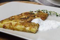 Zwiebel-Kartoffel-Tarte mit Nelkenpfeffer und Thymian | Foodina