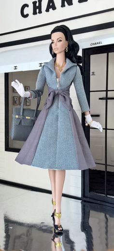 "OOAK Fashions for 16"" Fashion Royalty / 16""Tulabelle / 16""Poppy parker -W Zipper   eBay"
