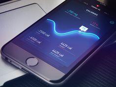 Line Light Graph by Gleb Kuznetsov—The Best iPhone Device Mockups → store.ramotion.com