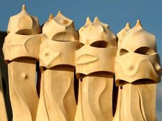 Casa Milà, better known as La Pedrera, meaning the 'The Quarry'), is a building designed by the Catalan architect Antoni Gaudí. It is located at 92, Passeig de Gràcia in the Eixample district of Barcelona, Spain.
