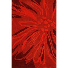 nuLOOM Handmade Norwegian Sky Fireworks Splash Red Rug (7'6 x 9'6) - Overstock™ Shopping - Great Deals on Nuloom 7x9 - 10x14 Rugs