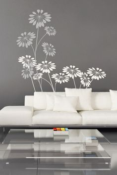 I just discovered some really cool wall art It& do-it-yourself wall decals for kids and adults. Check it out! Flower Wall Decals, Kids Wall Decals, Flower Mural, Wall Stickers, Bedroom Wall Decals, Large Wall Decals, Bedroom Wallpaper, Cool Wall Art, New Room