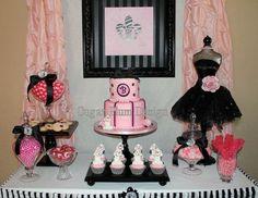 Paris Theme Birthday Party @ Debbie Kennedy Events & Design, Formerly Sugar Plum Designs – VA, MD & DC Metropolitan Area, Greater Scottsdale, Arizona Candy Tables, Event Planning & Dessert Buffets, Wedding Planner