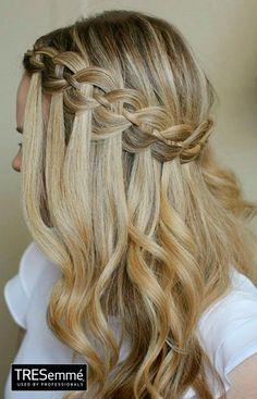 Blonde Hair Ondas Naturales TRESemmé