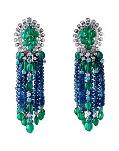 CARTIER.emeralds sapphire diamonds.saved by Antonella B.Rossi