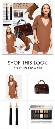 """""""Choker Dresses and PaoloShoes"""" by spenderellastyle ❤ liked on Polyvore featuring Missguided, Handle, Yves Saint Laurent and Givenchy"""