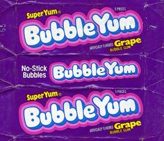 Fourth Grade Nothing: Bubble Yum, Hubba Bubba & Bubblicious My Childhood Memories, Sweet Memories, School Memories, Childhood Toys, Bubble Yum, Bubble Candy, Photographie Indie, Retro Poster, Tennessee Williams