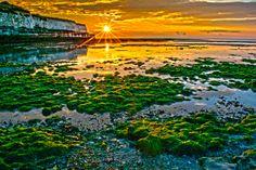 Epple Bay Beach Kent,England....