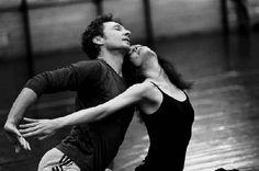 Aurelie Dupont et Manuel Legris