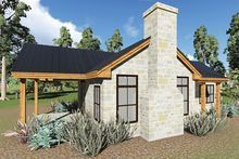 Cottage Style House Plan - 1 Beds 1 Baths 808 Sq/Ft Plan #935-9 - Dreamhomesource.com