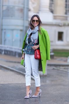 According to Pantone, green will be the hot color trend everyone will be wearing this year. Here's how to wear 2017 Color of The Year- Greenery.