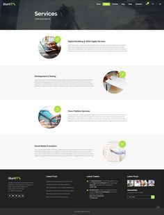 Whether you need a fully fledged website, a landing page, a blog, an eCommerce platform, or simply a creative way to express your ideas, you'll find it in Startit WordPress theme. #wordpress #design #layout #template #webdesign #technology #startup #agency #digital #app #landingpage #software #cryptocurrency #onepage #tech #conference Layout Template, Templates, Types Of Technology, Social Media Analytics, App Landing Page, Create Your Website, Ecommerce Platforms, Building A Website, Start Up Business