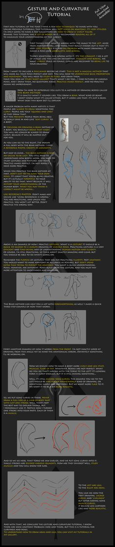 Gesture and Curvature Tutorial by Jeff-H.deviantart.com on @deviantART
