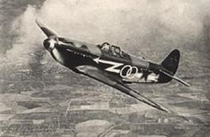 Normandie-Niemen Regiment Yak fighter over Russia 1944.