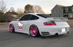Hello Kitty Porsche :)
