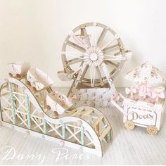 Simply in love with the Amusement Park theme by Carousel Party, Carousel Birthday, Circus Theme Party, Carnival Birthday, Party Props, Party Themes, Baby Birthday, Amusement Park Party, Carnival Baby Showers