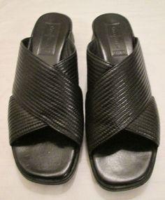 b0046ce419 Wedge Slides Casual Sandals & Flip Flops for Women US Size 7 | eBay. Black  WedgesCole HaanPiesClogsWomen's ShoesBrazilTartsWoman ...
