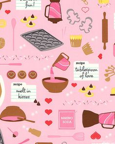Baked With Love - Cook's Delight - Petal Pink