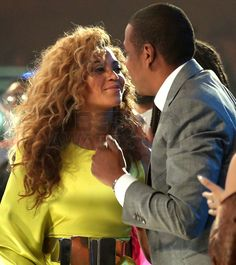 *exclusive photo* Jay-Z and Beyonce staring into each other's eyes in the front row at #BETAWARDS