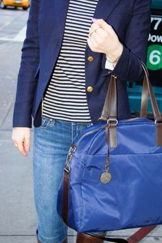 """This """" Lo and Sons"""" bag would be perfect for traveling back and forth to school !"""