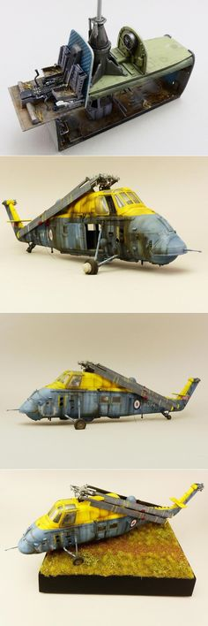 British Westland Wessex. ITALERI 1/48 scale. By Jamie Haggo. The Royal Navy #helicopter #chopper #scale_model