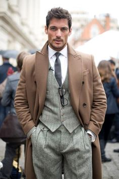 Gentleman's Style:  layers