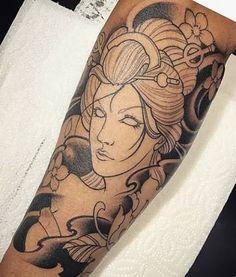 ผลการค้นหารูปภาพสำหรับ tattoo desenhos gueixas