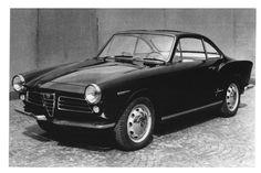 Alfa Romeo Giulietta Sprint Coupé Prototipo by Karmann Ghia (1961)