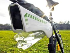 bike, bicycle, water capture, solar energy, solar panels, water from air, resilient technology, Fontus, Kristof Retezár, solar power, solar panels, self-filling water bottle
