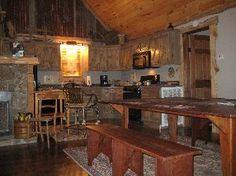 inside my favorite Mentone, Alabama cabin