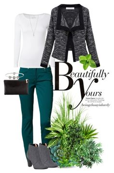 Beautifully Yours by beingclassyislovely on Polyvore featuring polyvore, fashion, style, White Stuff, 7 For All Mankind, Lauren Merkin, Pandora, Ileana Makri, Nearly Natural, Dot & Bo, Joie, Sonam Life and clothing