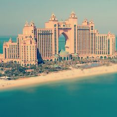 One of the best hotels in Dubai the Atlantis Palm Jumeirah