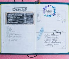 Interested in bullet journaling but need some inspiration? Check out these daily, weekly and monthly bullet journal layout examples!