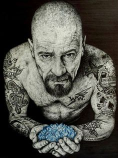 amazing artwork of heisenberg!