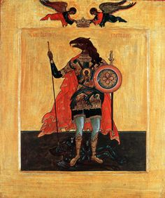 tumblr_mltyhrbJRo1qcmawno1_1280.jpg  st Christopher, some very interesting information about the dog head here: http://www.orthodoxartsjournal.org/the-icon-of-st-christopher/ -LAW