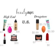 CONTEST-MAKEUP-DUPES by k-cummings0799 on Polyvore featuring beauty, NARS Cosmetics, MAC Cosmetics, Maybelline, beautyblender, Benefit, e.l.f. and beautydupes