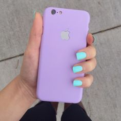 pastel purple iPhone 6/6s phone case •iPhone 6/6s phone case  •thin hard plastic  •new never used  •no trades  not from American apparel   ❗️ all sales are FINAL American Apparel Accessories Phone Cases