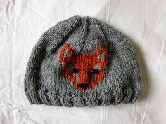 for the little prince - my little son  pletená čepice pro malého prince ;)    #knitting #hat #fox #boy