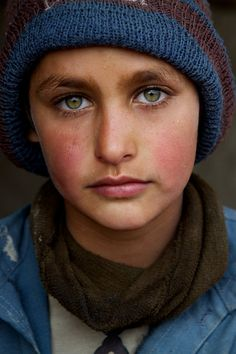 """Pashtun refugee boy in Kabul"", Afghanistan."